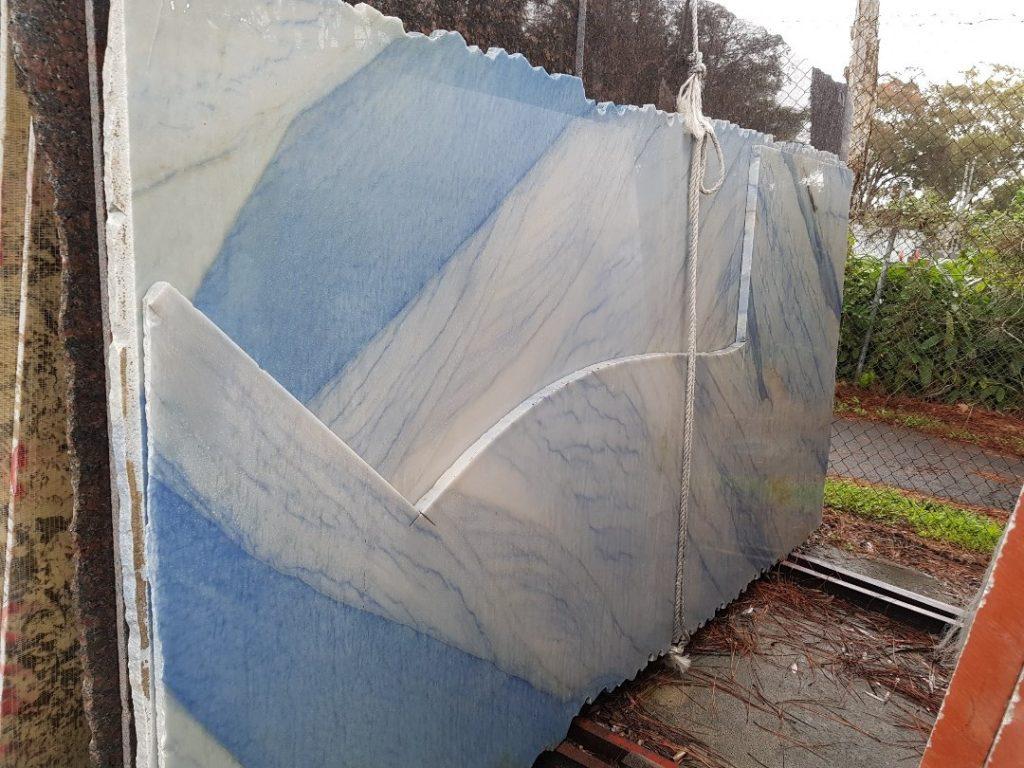 Quartzite - Azul Macaubas 30mm
